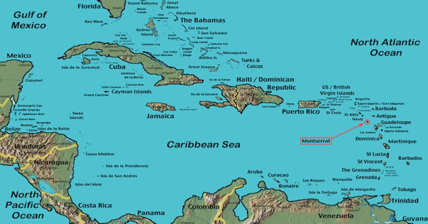 Montserrat Lesser Antilles